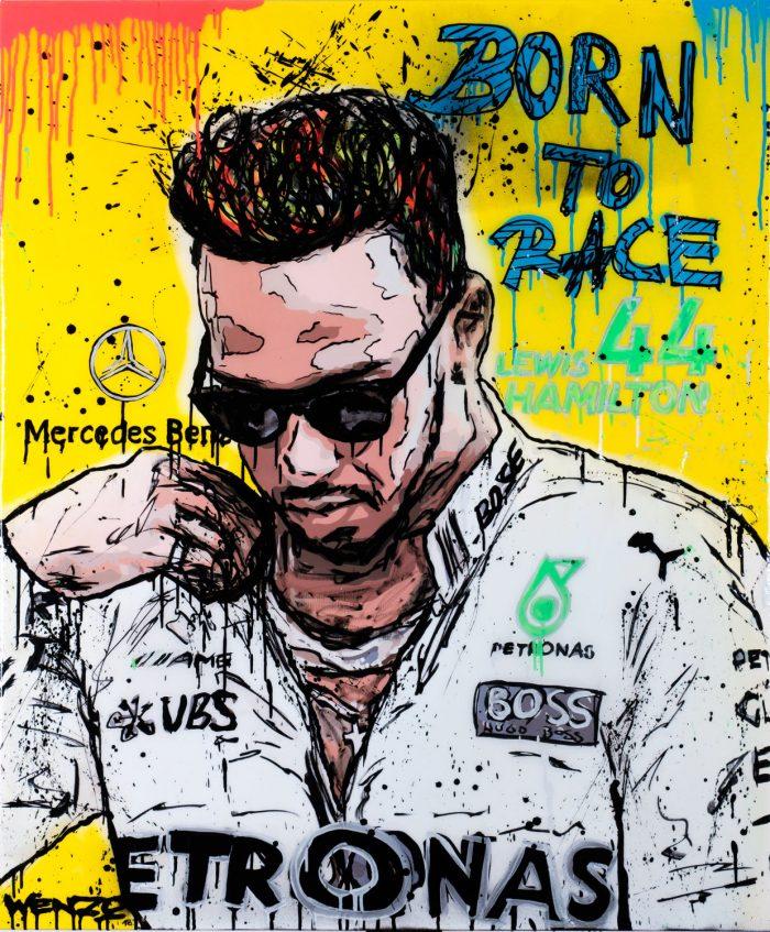 Lewis Hamilton – Art by Wenzo