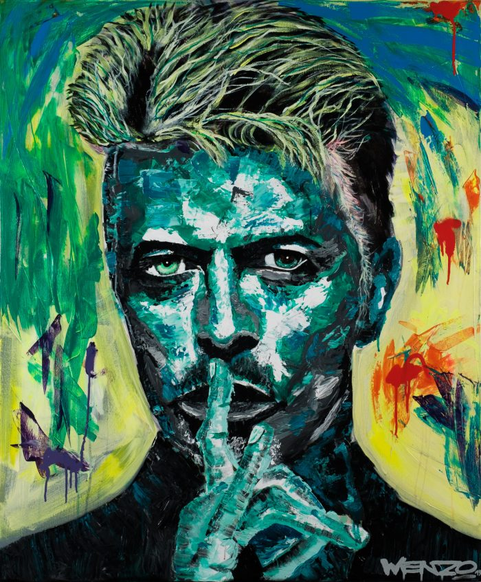 David Bowie – Art by Wenzo