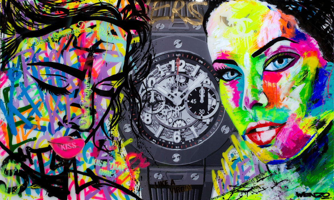 Art by Wenzo – Two Faces